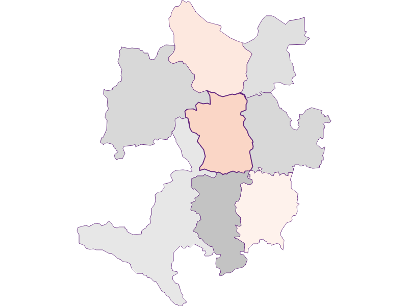 Farmers (comparison to federal state) in Wolfsbach