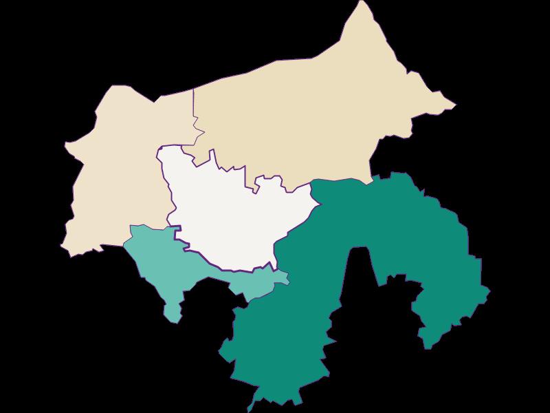 Population development since 1869 in Zeillern