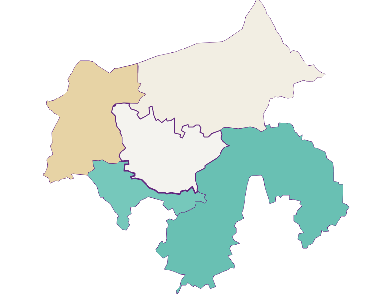 Population development since 1900 in Zeillern