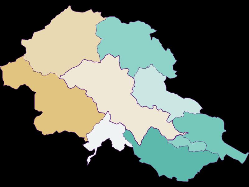 Population development since 1869 in Alland