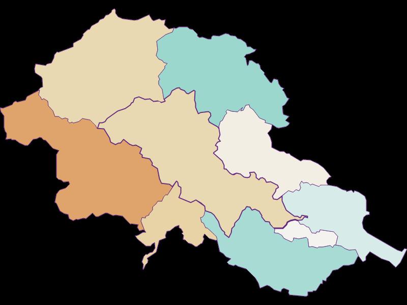 Population development since 1900 in Alland
