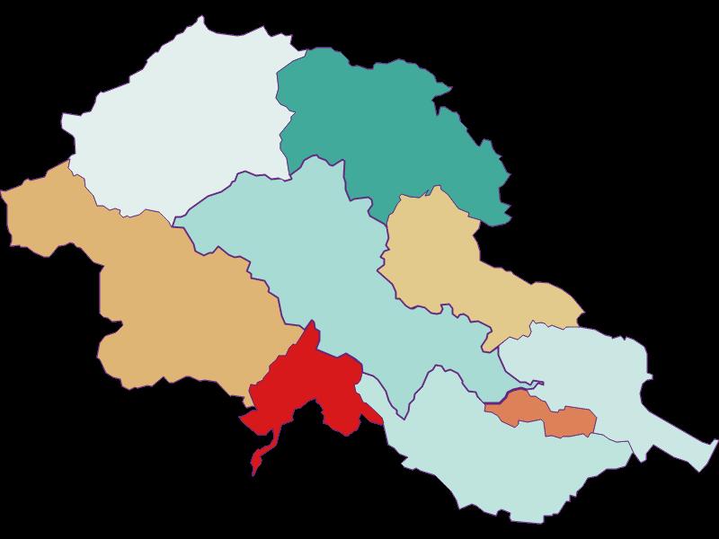 Population development since 2011 in Alland