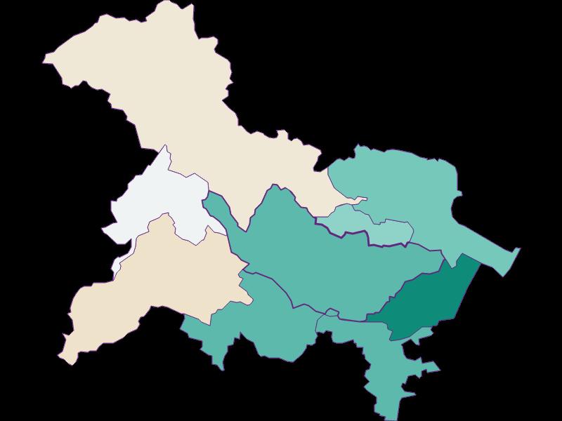 Population development since 1869 in Bad Vöslau