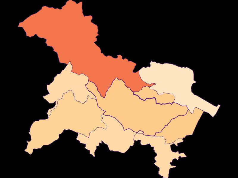 Размер домохозяйства в Bad Vöslau