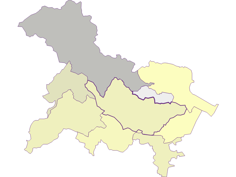 Farmers (comparison to federal state) in Bad Vöslau