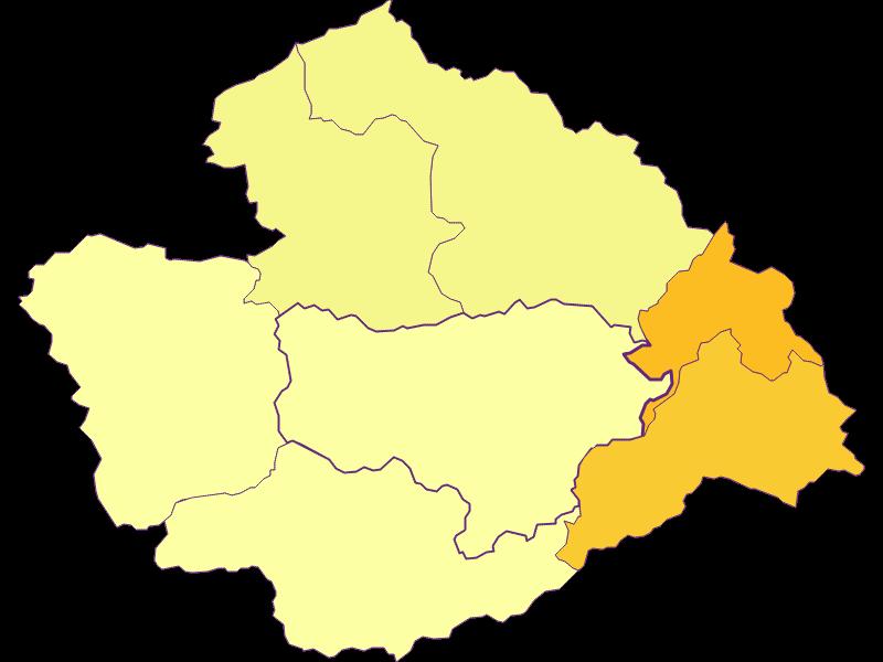 Плотность населения в Furth an der Triesting