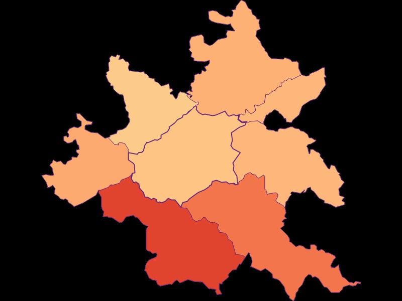 Размер домохозяйства в Klausen-Leopoldsdorf