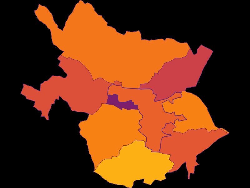 Population density in Leobersdorf
