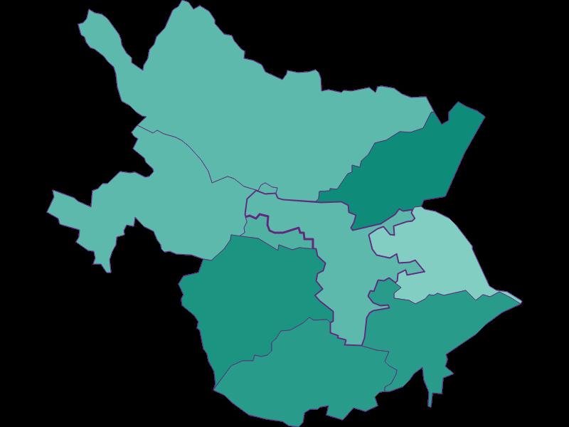 Population development since 1869 in Leobersdorf