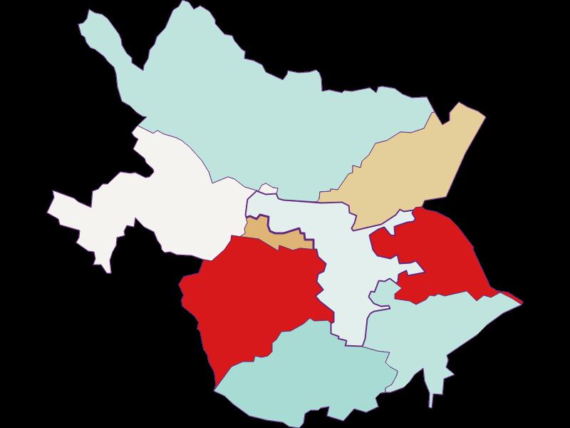 Population development since 2011 in Leobersdorf