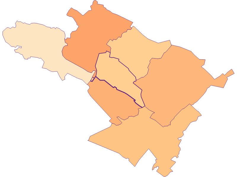 Размер домохозяйства в Oberwaltersdorf