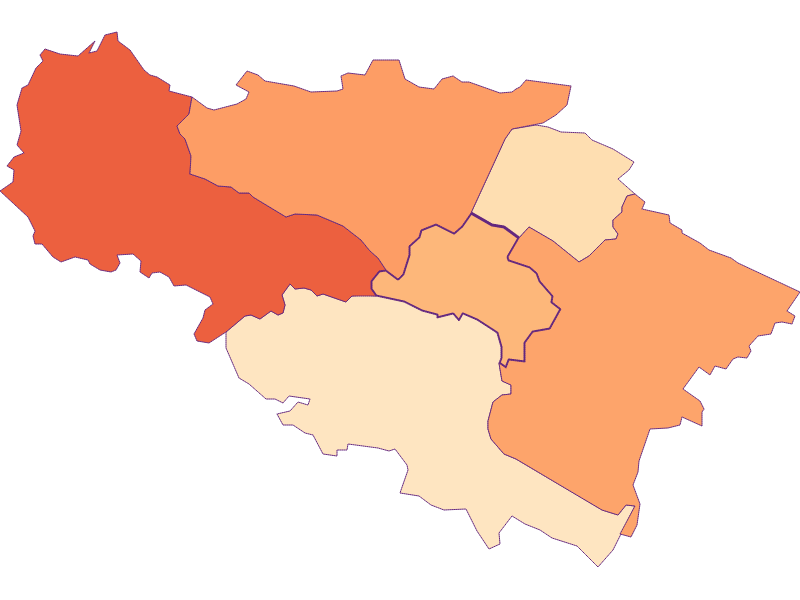 Размер домохозяйства в Pfaffstätten