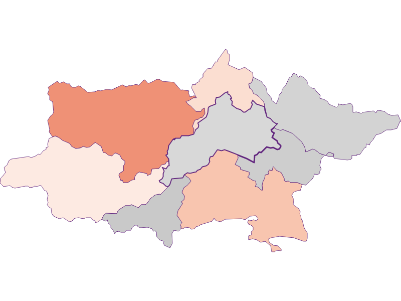 Activity rate in Pottenstein