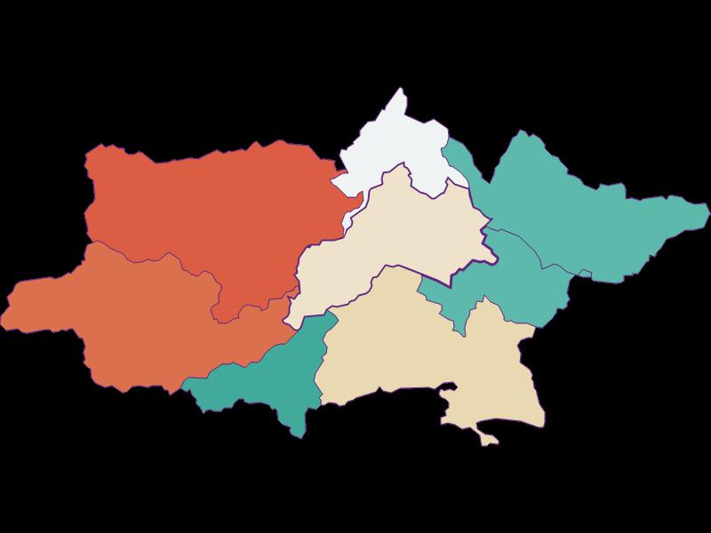 Population development since 1869 in Pottenstein