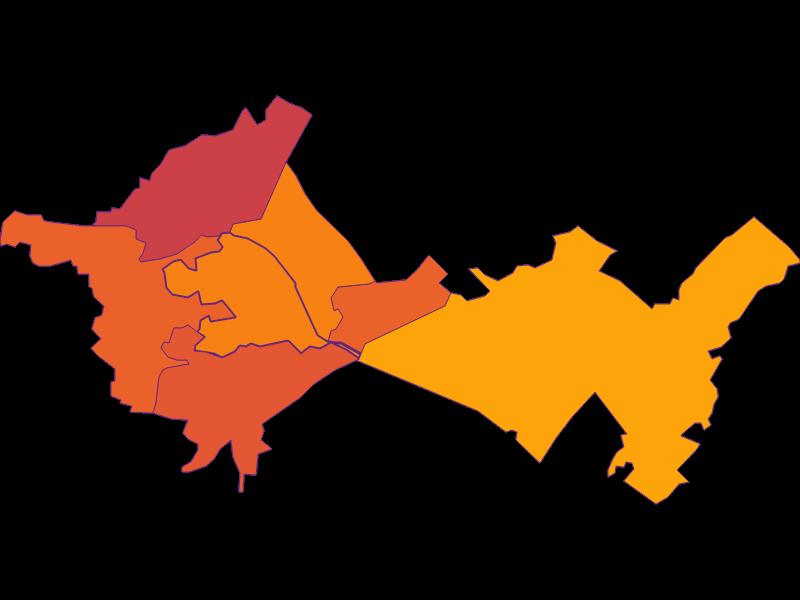 Плотность населения в Schönau an der Triesting