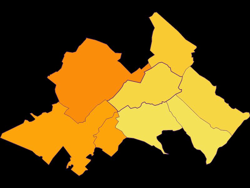 Bevölkerungsdichte in Seibersdorf