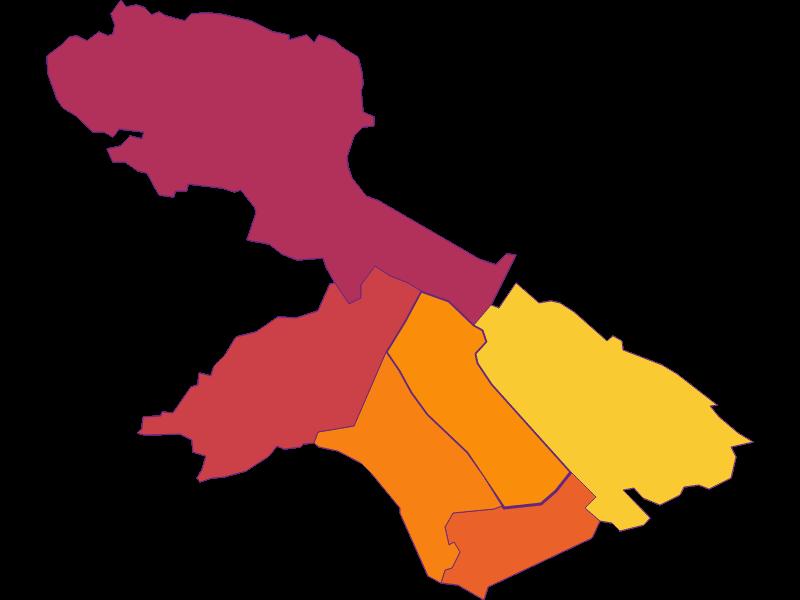 Плотность населения в Teesdorf