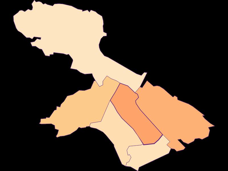Размер домохозяйства в Teesdorf