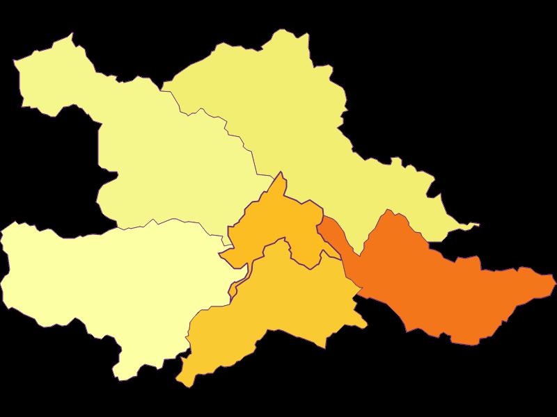 Population density in Weissenbach an der Triesting