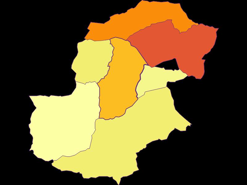 Плотность населения в Bürs