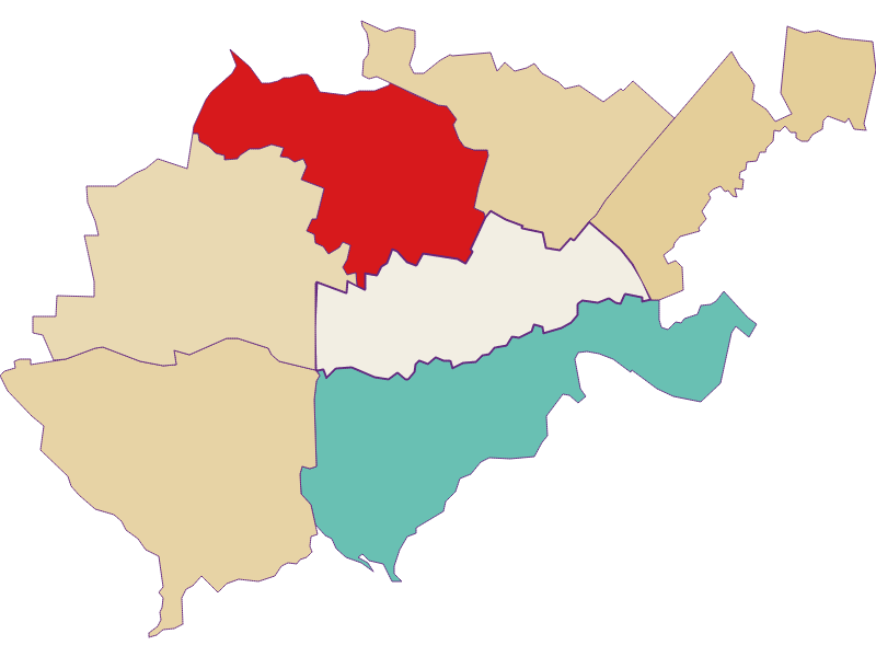 Population development since 1900 in Bruck an der Leitha