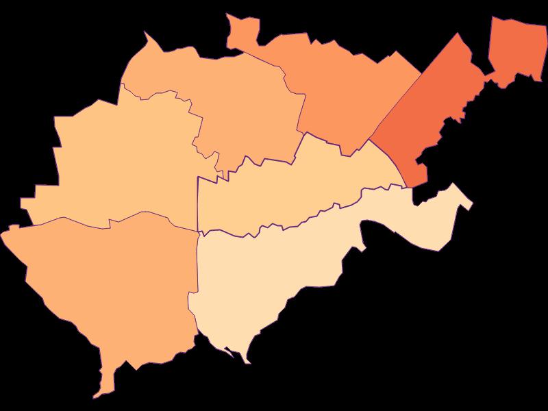 Размер домохозяйства в Bruck an der Leitha