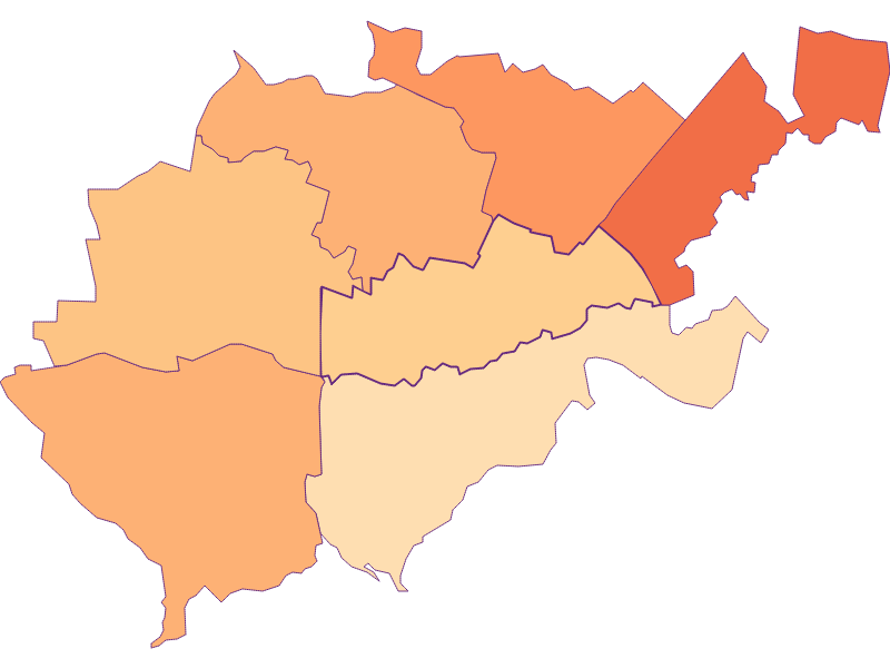 Household size in Bruck an der Leitha