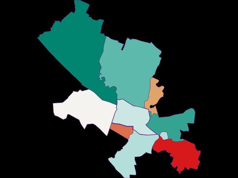 Population development since 1900 in Fischamend