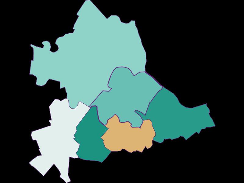 Population development since 2011 in Hainburg a.d. Donau