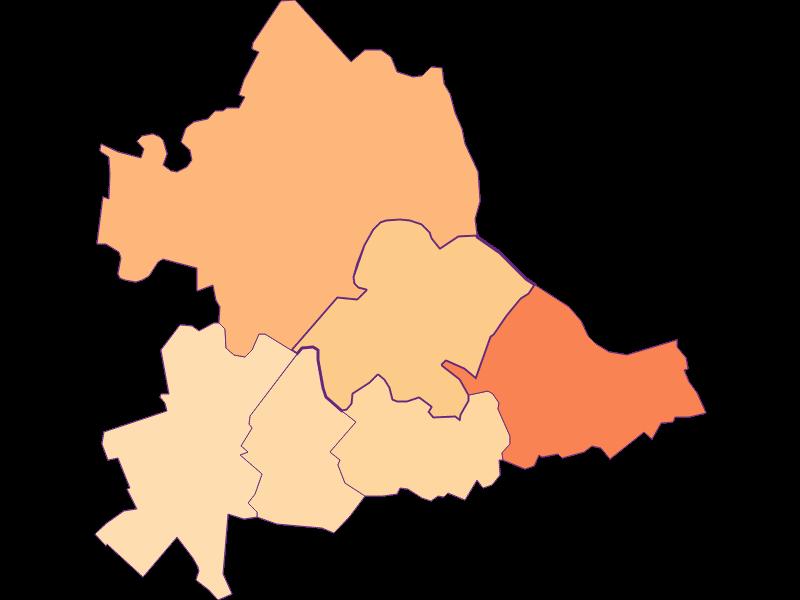 Household size in Hainburg a.d. Donau