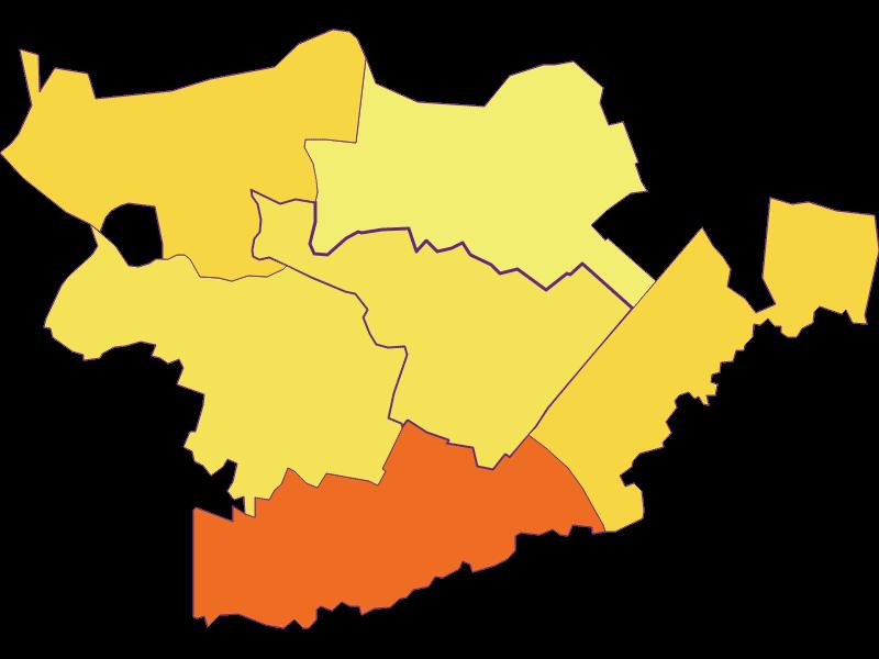 Плотность населения в Höflein
