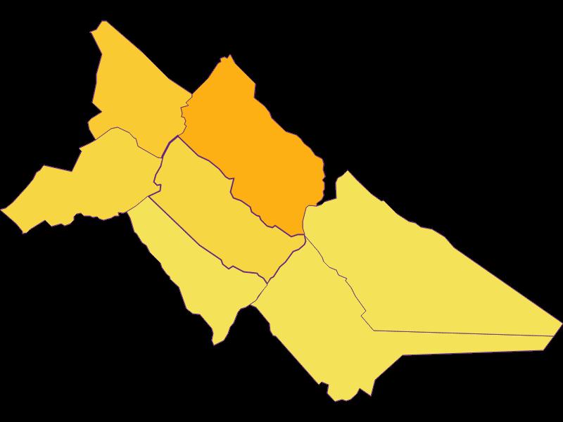 Population density in Hof am Leithaberge