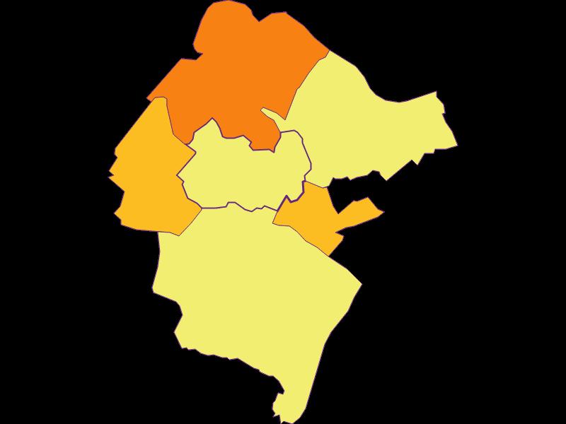 Плотность населения в Hundsheim