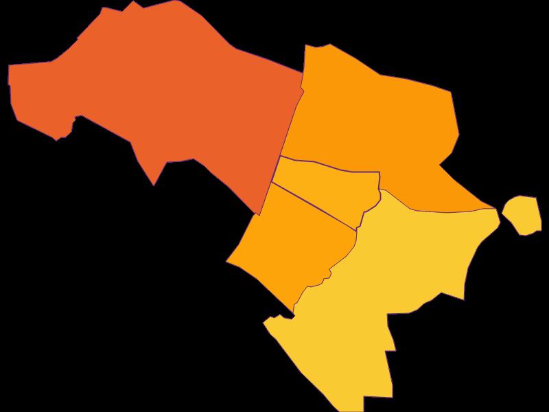 Population density in Klein-Neusiedl