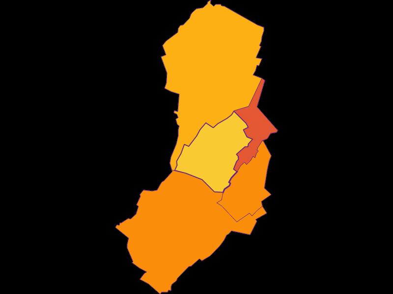 Плотность населения в Moosbrunn