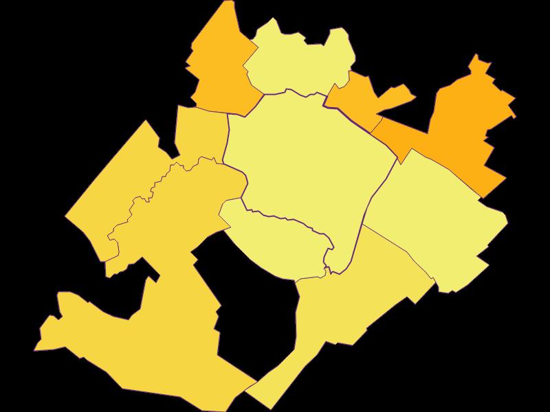 Population density in Prellenkirchen