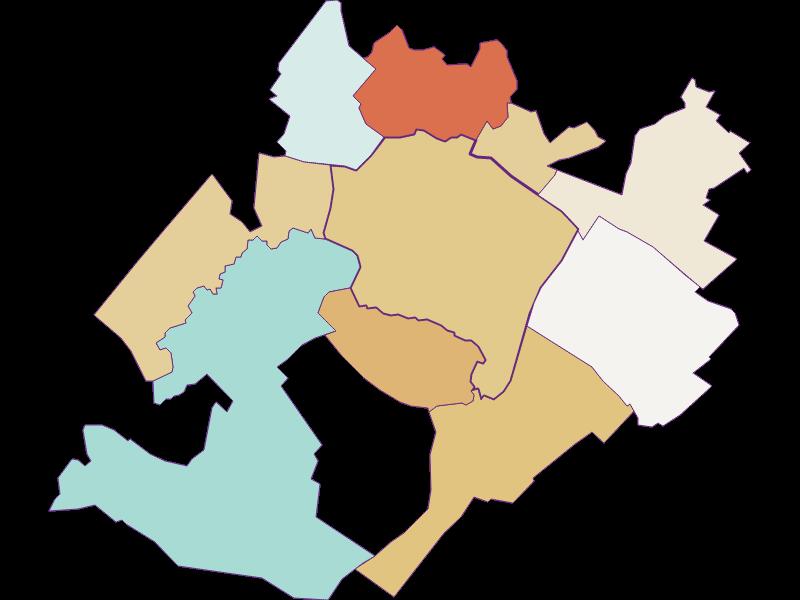 Population development since 1900 in Prellenkirchen