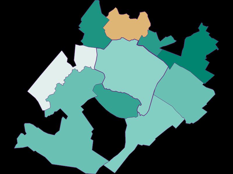 Population development since 2011 in Prellenkirchen