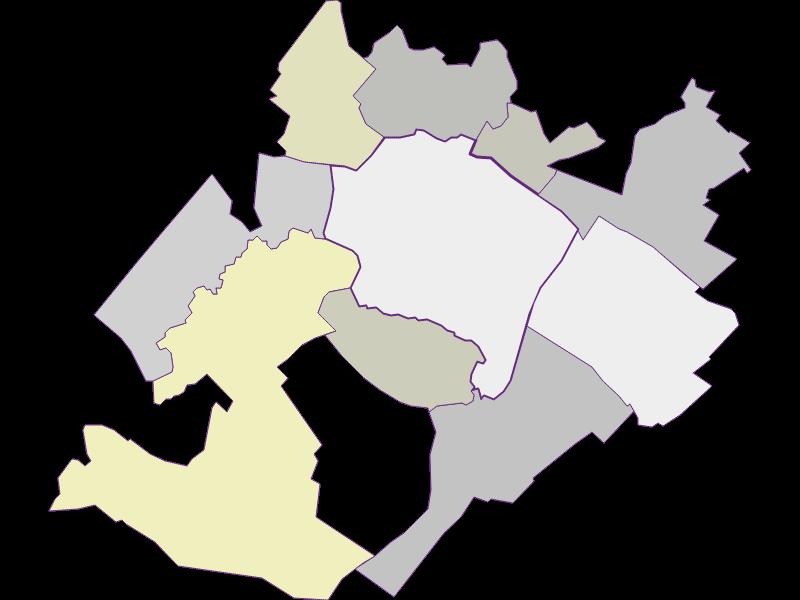 Farmers (comparison to federal state) in Prellenkirchen