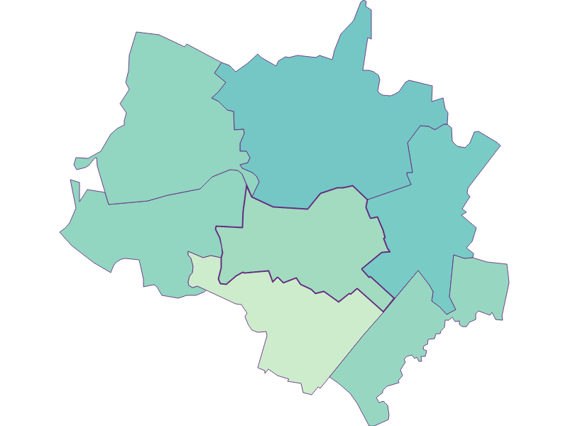 Share of foreigners in Scharndorf