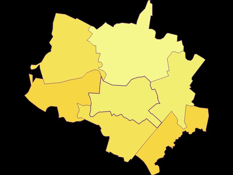 Population density in Scharndorf