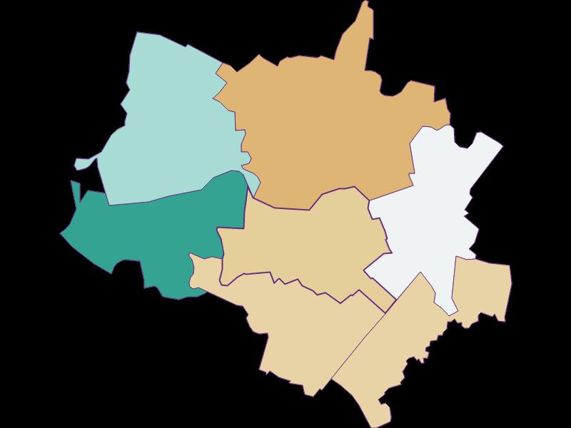 Population development since 1869 in Scharndorf