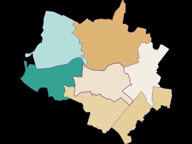 Population development since 1900 in Scharndorf