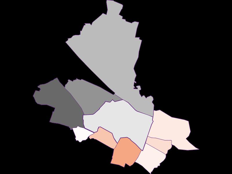 Activity rate in Schwechat