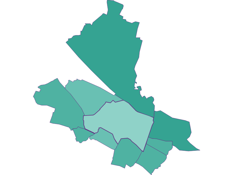 Population development since 2011 in Schwechat
