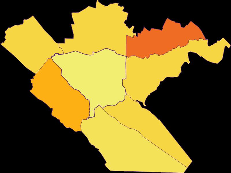 Плотность населения в Sommerein