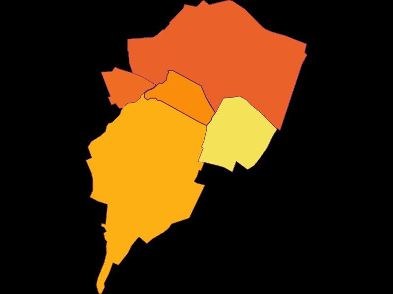 Population density in Zwölfaxing