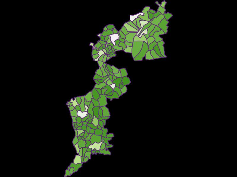 Заселенность в Burgenland