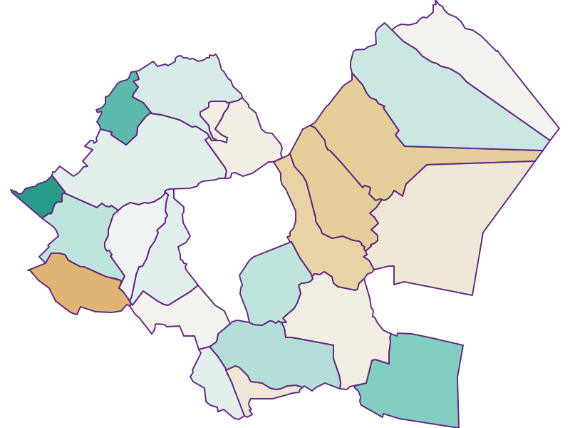 Population development since 1869 in Eisenstadt-Umgebung