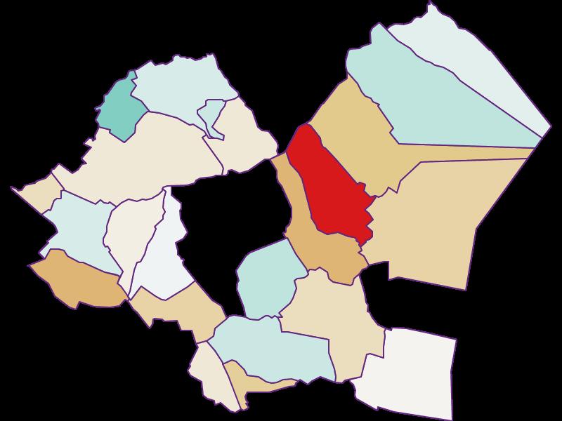 Population development since 1900 in Eisenstadt-Umgebung